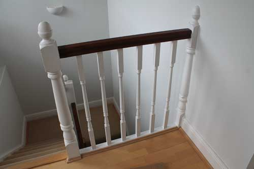 wooden-banister-decoration-london